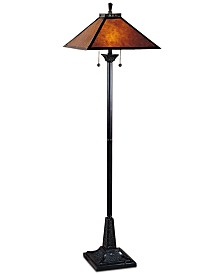 Dale Tiffany Mica Camelot Floor Lamp