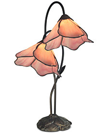 Dale Tiffany Poleking Lily Table Lamp
