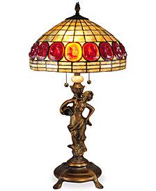 Dale Tiffany Turtleback Table Lamp