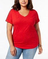 b159afed7d Plus Size T Shirts  Shop Plus Size T Shirts - Macy s