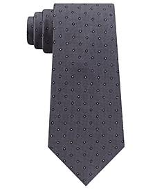 Men's Mini Oxford Square Slim Silk Tie