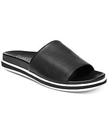 Franco Sarto Cameo Slide Flatform Sandals