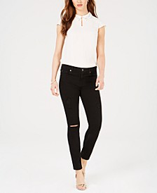 B(air) Denim Ankle Skinny Jeans