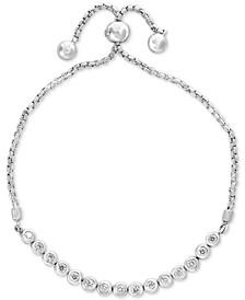 Bubbles by EFFY® Diamond Bezel Bolo Bracelet (5/8 ct. t.w.) in 14k Gold