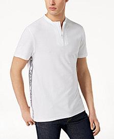 Calvin Klein Men's Zip-Close Henley