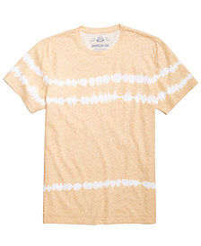 American Rag Men's Tie Dye Striped T-Shirt, Created for Macy's