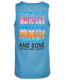 Maui and Sons Men's Day Tripper Logo-Print Tank