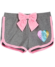 Epic Threads Little Girls Bow-Trim Shorts, Created for Macy's