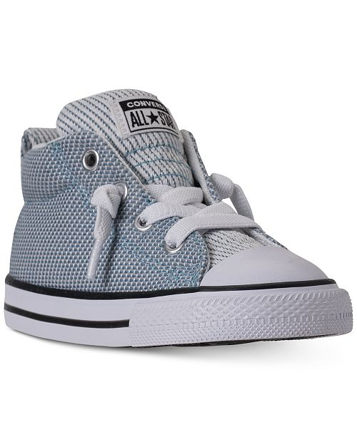 2dffca76a145d5 ... Converse Toddler Boys  Chuck Taylor All Star Street Mid Casual Sneakers  from Finish ...