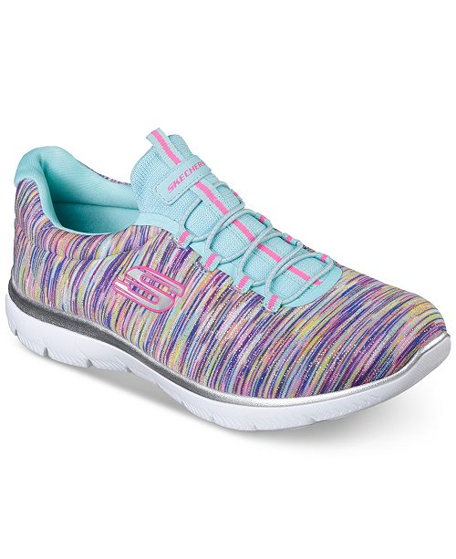 e15ecef681d8 ... Skechers Women s Summits - Light Dreaming Wide Width Athletic Sneakers  from Finish ...