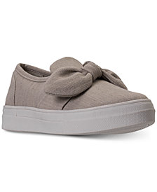 Skechers Women's Vapor - Bow Time Casual Sneakers from Finish Line