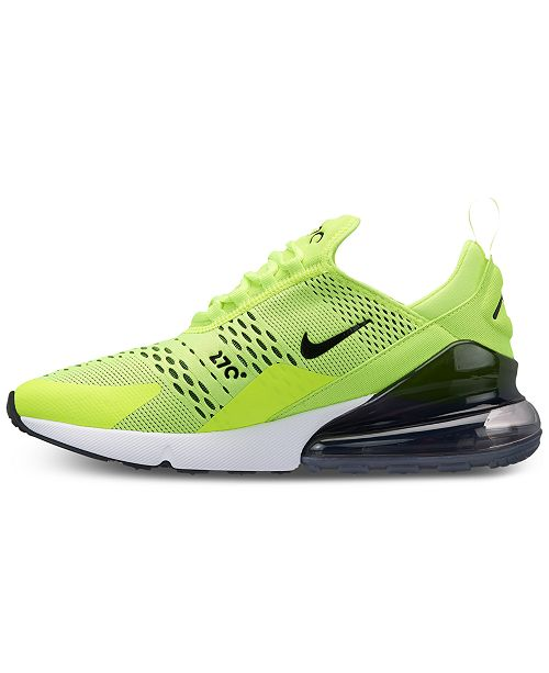 finest selection c210f 14242 Nike Men's Air Max 270 Casual Sneakers from Finish Line ...