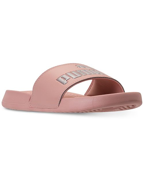 24dedaedb576 Puma Women s Popcat Slide Sandals from Finish Line   Reviews ...