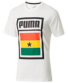 Puma Men's Forever Football Ghana T-Shirt