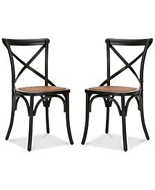 Maisie Farm Chair (Set Of 2), Quick Ship