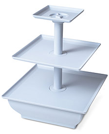 Three Tier Cupcake Dessert Stand Tray by Chef Buddy