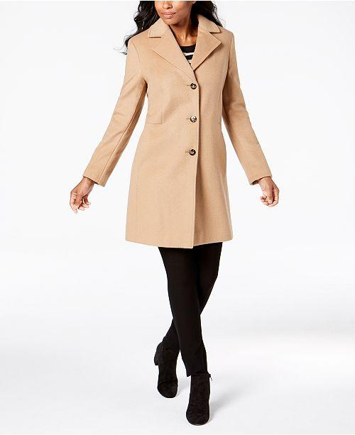 Calvin Klein Single-Breasted Coat