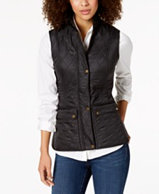 Barbour Quilted Fleece-Lined Vest