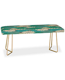 Deny Designs Holli Zollinger Flora Minted Bench