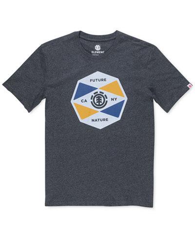 Element Men's Bisect Graphic-Print T-Shirt