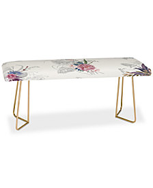 Deny Designs Iveta Abolina French Countryside Cream Bench