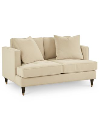"Jennova 59"" Fabric Loveseat, Created For Macy's"