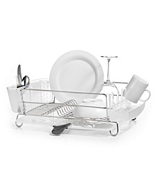 Dish Rack, Folding Stainless Steel