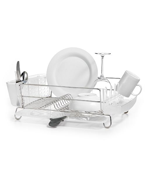 Oxo Good Grips Folding Stainless Steel Dish Rack Awesome OXO Dish Rack Folding Stainless Steel Kitchen Gadgets Kitchen