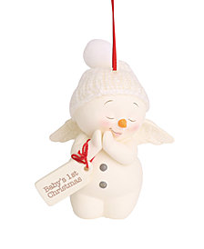 Department 56 Snowpinions Baby's 1st Christmas Ornament