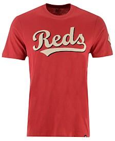'47 Brand Men's Cincinnati Reds Fieldhouse Basic T-Shirt