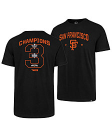 '47 Brand Men's San Francisco Giants Coop MVP Collection T-Shirt