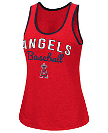 G-III Sports Women's Los Angeles Angels Power Punch Glitter Tank
