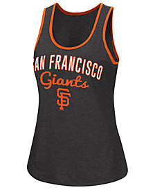 G-III Sports Women's San Francisco Giants Power Punch Glitter Tank