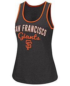 G-III Sports Women's San Francisco Giants Power Punch Glitter Tank