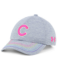 Under Armour Girls' Chicago Cubs Renegade Twist Cap