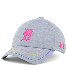Under Armour Girls' Detroit Tigers Renegade Twist Cap