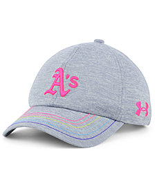 Under Armour Girls' Oakland Athletics Renegade Twist Cap