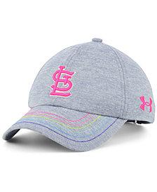Under Armour Girls' St. Louis Cardinals Renegade Twist Cap