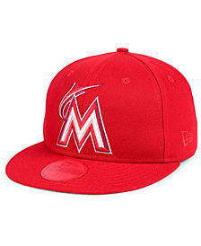 New Era Miami Marlins Prism Color Pack 59Fifty Fitted Cap