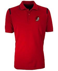 Antigua Men's Portland Trail Blazers Merit Polo Shirt