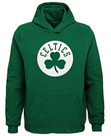 Outerstuff Boston Celtics Primary Logo Hoodie, Big Boys (8-20)