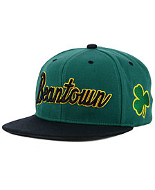 Mitchell & Ness Boston Celtics Town Snapback Cap
