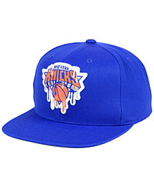 Mitchell & Ness New York Knicks Dripped Snapback Cap