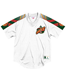 Other Mitchell & Ness Winning Team Mesh V-neck Atlanta Hawks Jersey New Size Small