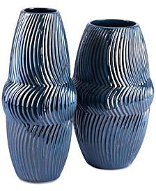 Spruce Blue Vase Collection