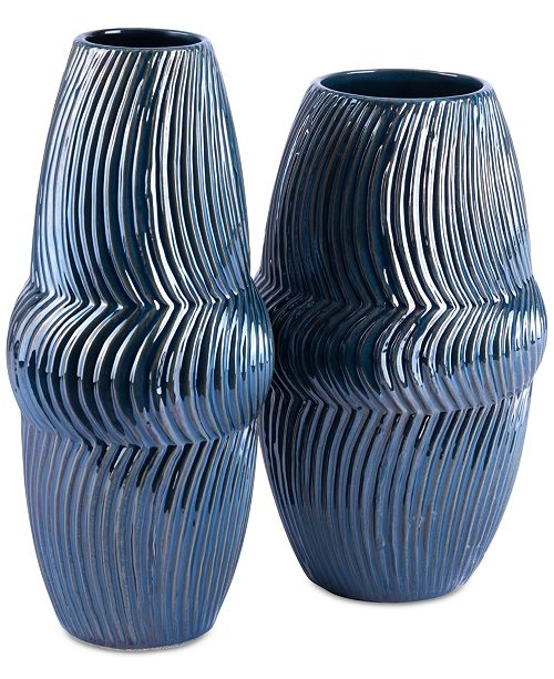 Zuo Spruce Blue Vase Collection