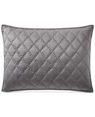 Silk Quilted Standard Sham, Created for Macy's