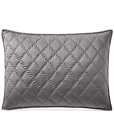 CLOSEOUT! Hotel Collection Silk Quilted Standard Sham, Created for Macy's