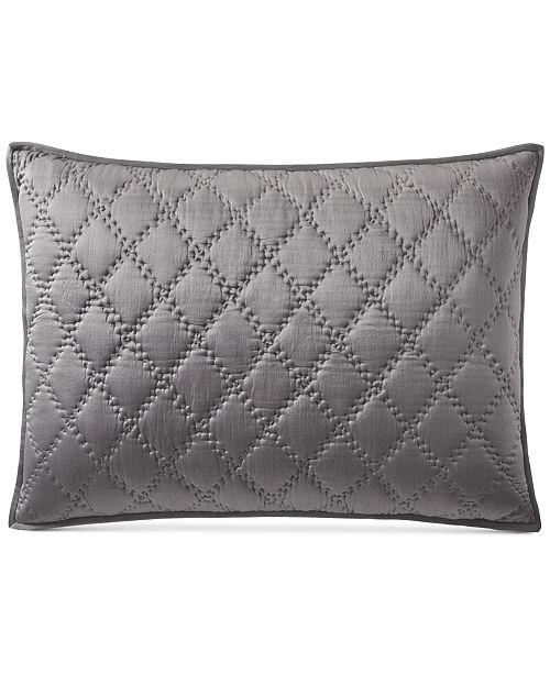 Hotel Collection CLOSEOUT! Silk Quilted King Sham, Created for Macy's