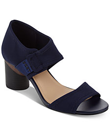 DKNY Penny Dress Sandals, Created For Macy's